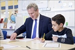Secretary of State for Education Visits United Learning academies to celebrate World Book Day and United Teaching