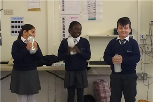 Wilberforce Primary pupils learn to treasure our oceans