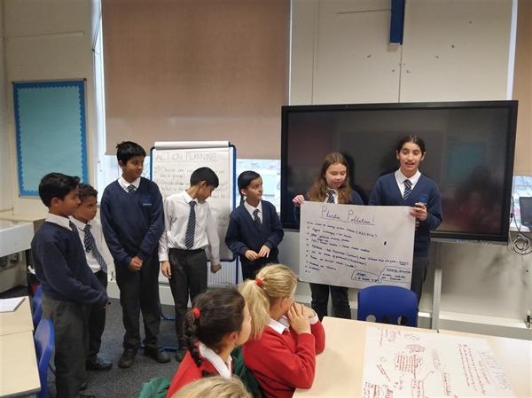 Young Leaders at Wilberforce Primary School take action