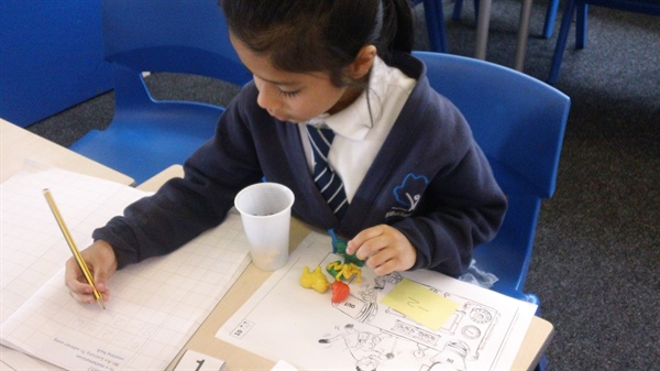 Active learning in Numeracy