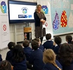 "DEFRA Leads Westminster Primary School Pupils in a ""Reduce,Reuse, Recycle – One Bag, Zero Waste"" Chant"