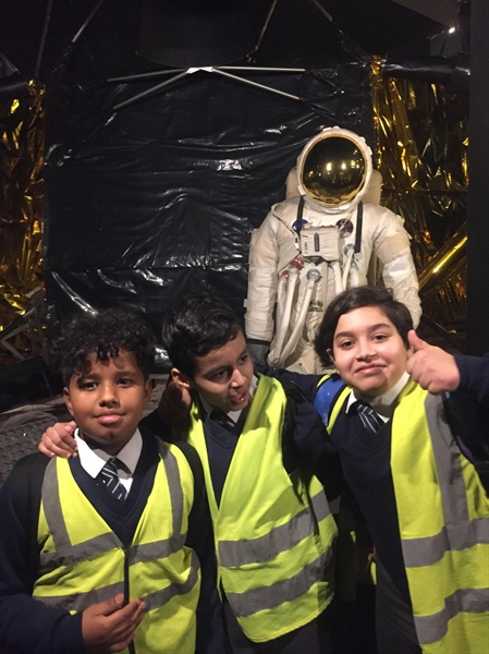Year 5 visit to the Science Museum